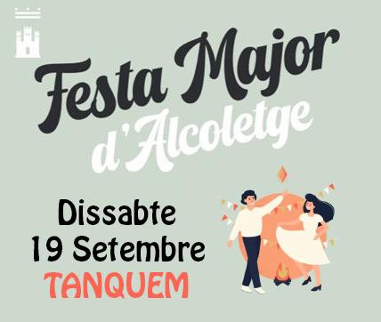 DISSABTE 19 TANQUEM, FAREM FESTA MAJOR